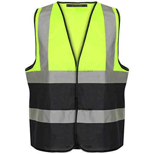myshoestorer-hi-viz-high-vis-visibility-vests-2-band-reflective-security-work-contractor-safety-vest