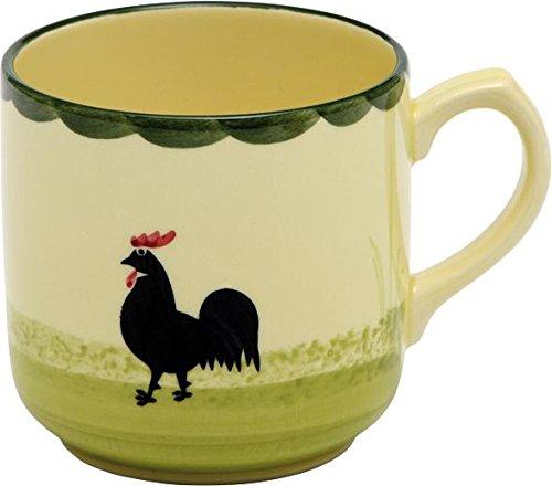 Zeller Keramik Kaffeebecher Hahn und Henne 0,3l Henne Und Hahn