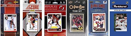 HL New Jersey Devils Herren 's 6Verschiedene lizenzierte Trading Card Team-Sets, Weiß ()