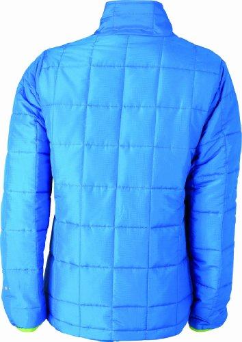 James nicholson &veste matelassée légère Bleu (aqua/limegreen)