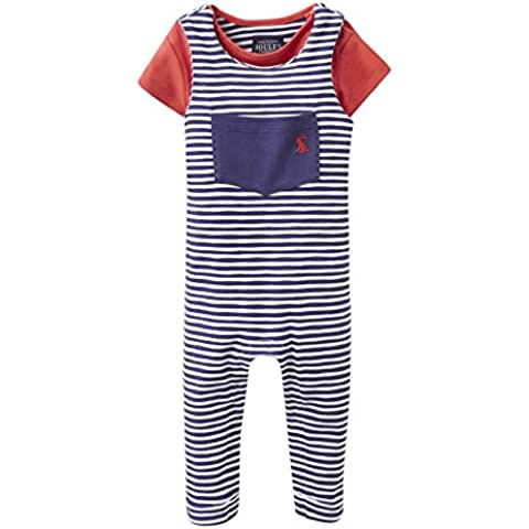 Joules Jersey Dungarees & T-Shirt Set -