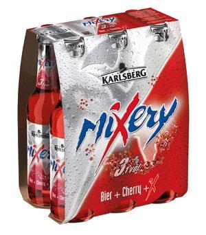 6 er Pack Karlsberg MIXERY SIXPACK 6x33cl BIER + CHERRY (Six Pack Bier)