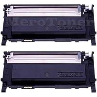 2x XXL Cartucho de tinta para para Samsung CLP 310, CLP310N, CLP 315, CLP 315W, CLX 3170, CLX 3170FN, CLX 3170, CLX3170FN, CLX 3175FN, CLX3175FW (Negro)