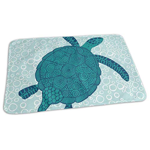 Voxpkrs Changing Pad Turtles Animal Baby Diaper Urine Pad Mat Stylish Kids Sheet Sheet for Any Places for Home Travel Bed Play Stroller Crib Car Turtle Fur Fleece