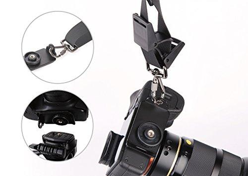 prowithlin Quick Release Montageplatte Adapter Schraube für Digitalkamera Canon Nikon Pentax, Panasonic, Sony, Samsung, Olympus