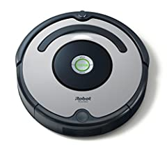 Idea Regalo - iRobot Roomba 615 Robot aspirapolvere, 30 W, 30 Decibel, Argento