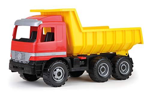 Lena 02031–Fuerte Fortuna autovolquete Actros 63cm, 3–achser con Solider Resistencia y bloqueable Volquete