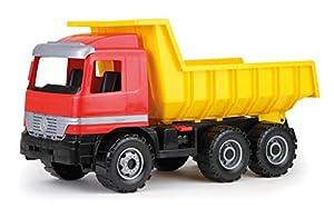 Lena GIGA Trucks Dump Truck Actros Previamente montado Camión - Modelos de vehículos de Tierra (Previamente montado, Camión, Mercedes-Benz Arocs, Dump Truck, 3 año(s), Negro, Gris, Rojo, Amarillo)