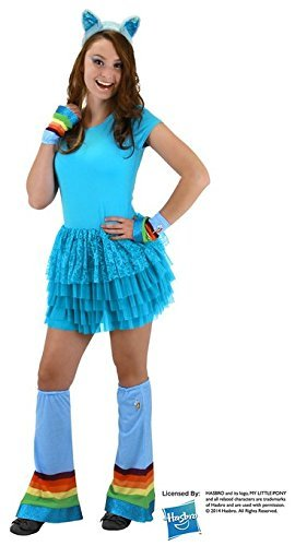My Pony Kostüm Cosplay Little - My Little Pony Rainbow Dash Adult Costume Headband