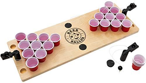 BeerBaller® Shot Pong: Das legendäre Bier Pong Spiel als Shot Version!   DIE TRINKSPIEL NEUHEIT 2019!   Inklusive gratis Ersatzteile   Das perfekte Trinkspiel für Deine Party!