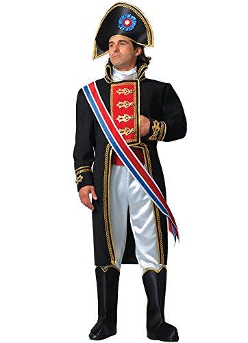 Napoleonkostüm, Erwachsene - Revolution Halloween Französische