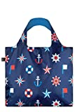 LOQI Artist Nautical Classic Bag Strandtasche, 50 cm, 20 liters, Mehrfarbig (Multicolour)
