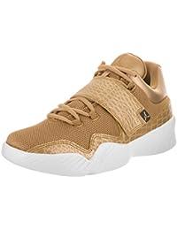 Jordan Mens J23 Metallic Gold White Gold Size 11