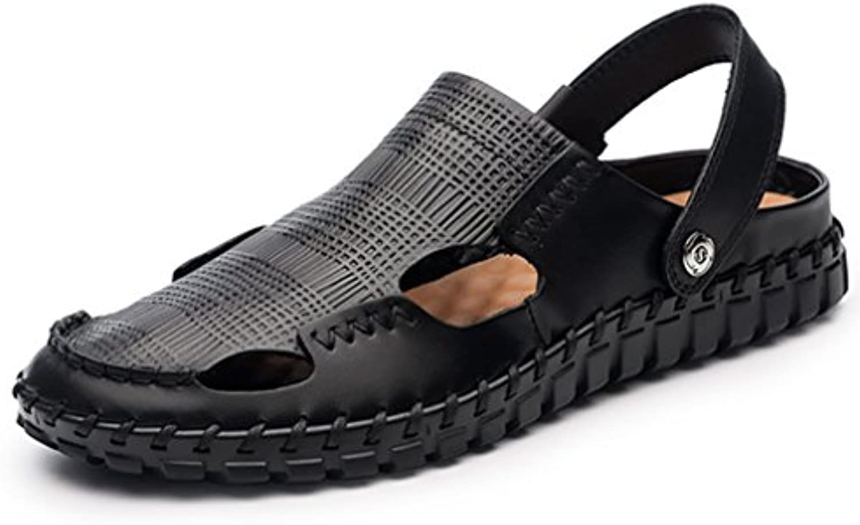 Sandalias De Verano para Hombre,Suela Blanda Playa Zapatos Sandalias Antideslizantes De Baotou  -