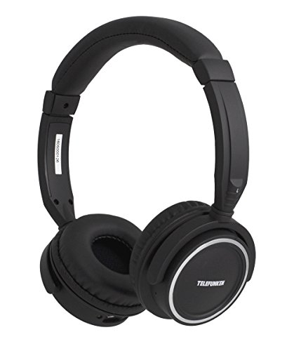 Telefunken KH6000B Bluetooth-Kopfhörer (On-Ear, wireless, integriertes Mikrofon)