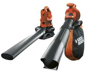 BLACK+DECKER Blower/Vacuum Shredder, 2600 W