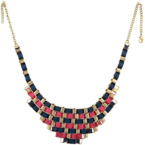 sempre-london-women-fashion-18ct-gold-plated-pink-blue-ribbon-necklace-for-women