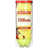 Wilson Championship Extra Duty Pelota, Unisex Adulto, Amarillo, 3