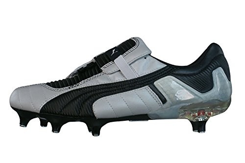 Puma V Konstrukt III SG Mens Leather Football Boots - Cleats Silber