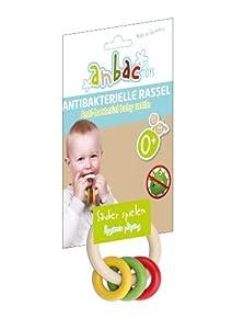 eitech 70002anbac Toys Antibacteriano Sonajero Ring