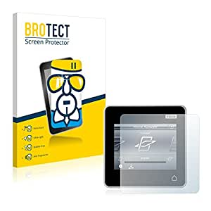 BROTECT AirGlass Protection Verre Flexible pour Velux Integra Control Pad KLR 200 Film Vitre Protection Ecran Transparence - Extra Résistant, Ultra-Léger, Clair
