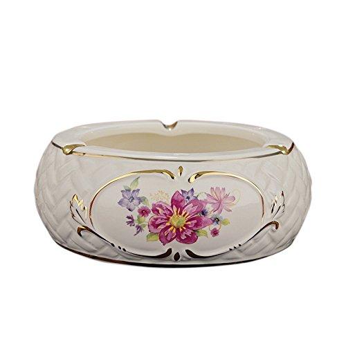 AXDX Jewelry Posacenere per sigari posacenere in ceramica creativa salotto ornamenti d'epoca stile continentale, 20 * 20 * 7.5 cm