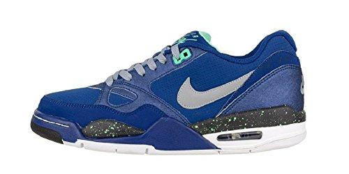 Nike Air Max Flight 13 Low Basketball Sneaker blau/grau/schwarz/weiß, Schuhgröße:EUR 42.5