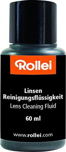 Rollei Lens Cleaning Fluid - Liquido de Limpieza para Objetivos y Lentes (60 ml)