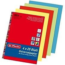 50 Blatt Intensives Rot Format A4 Dalton Manor Papier