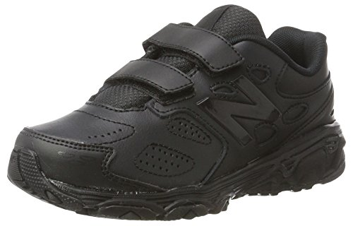 New Balance 680, Running Mixte Enfant Noir (Black/black)