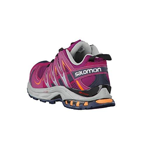 Salomon Damen Xa Pro 3d Traillaufschuhe mystic purple-light onix-orange feeling