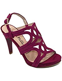 f25e739ac6 Amazon.es  Sandalias Moradas  Zapatos y complementos