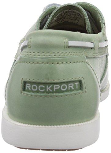 Rockport 2-EYE Herren Bootsschuhe Grün (LT GREEN)