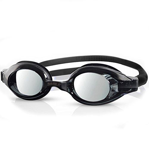 CL& Schwimmen Gläser Anti-UV-Anti-Fog wasserdicht HD Männer und Frauen erhältlich Erwachsene professionelle Ausbildung Schutzbrillen Schwimmen Ausrüstung Schwimmbrille (Farbe : E) -