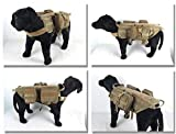Training Dog MOLLE Geschirr Weste Outdoor Militär Hund Tasche SE