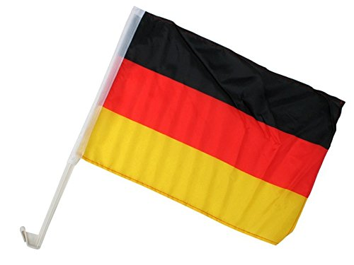 Auto Fahne Deutschland Autofahne Autoflagge 45 x 30 cm
