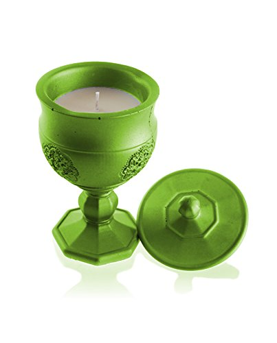 (Candellana Candles Candlefort Candles Concrete Graal Lime, Scent: for Him)