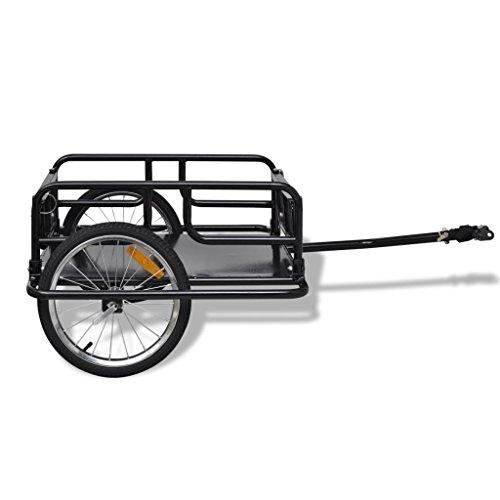 Remorque cargo vélo – noire