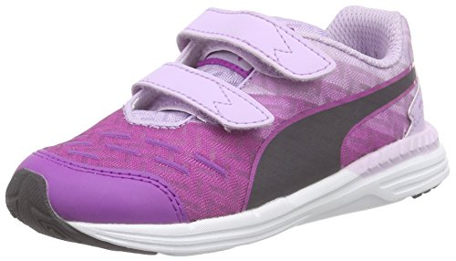 Puma - Speed 300 V Inf, Scarpe da corsa Unisex – Bambini Viola (Violett (purple cactus flower-orchid bloom-periscope 03))