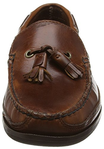 Sebago Ketch, Scarpe da Barca Uomo Marrone (Brown (Brown Oiled Waxy))