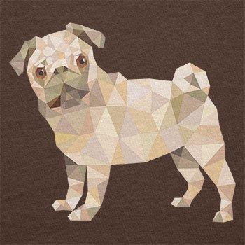 Texlab–Poly Pug–sacchetto di stoffa Marrone