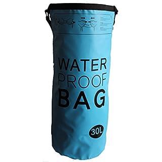 AiO-S - OK Drybag 30L Tasche 30 Liter wasserdicht Packsack blau Water Proof Softcase Beutel