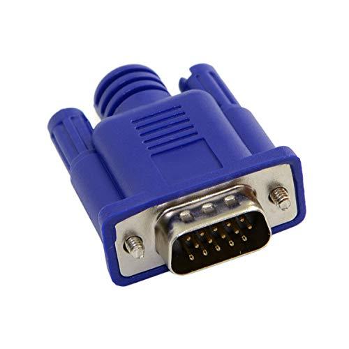 Virtueller Displayadapter für VGA RGB Monitor Dummy Stecker Headless Ghost Display Emulator 1920 x 1080 p bei 60 Hz -