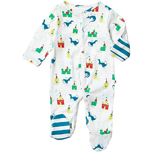 Piccalilly Magic Dragon Sleepsuit 0-3 Month