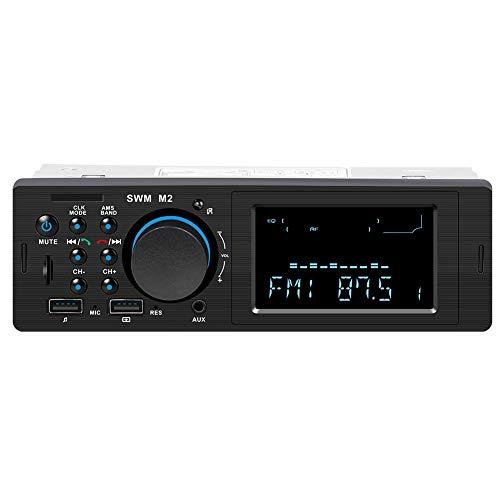 Radio de Coche, RIXOW Autoradio FM Estéreo Bluetooth 60W*4 Doble USB Carga...