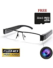 Inovics Slim Spy Glasses Camera with Sound and Video Recorder, 32 GB Memory Card Glass Full HD 12 Megapixel Lens for 1920p Recording Long Battery Backup Standby time 5 Hours