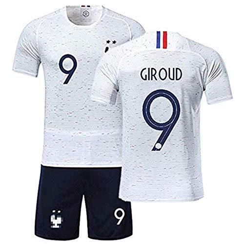 e570b5938 Maillots de Football Hommes de France Soccer Jersey 2018 Coupe du Monde  France 2 Étoiles Football