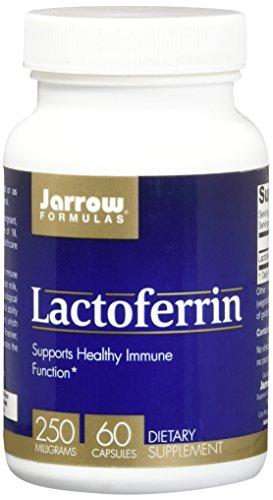 Jarrow Formulas, Lactoferrin, 250mg, 60 Kapseln -