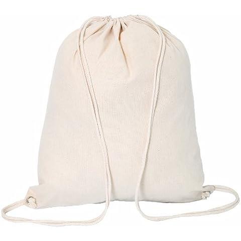 Bags for Less Cordoncino di cotone-Borsa a