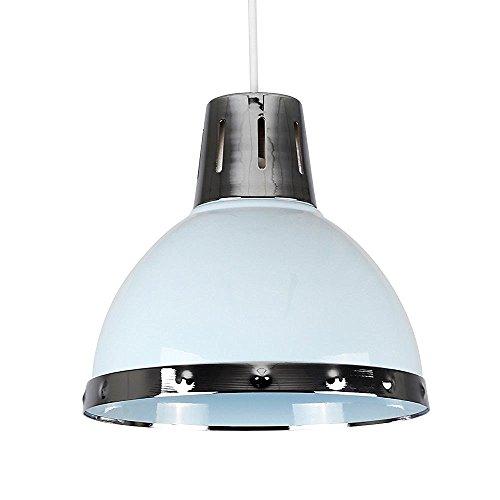 minisun-pantalla-para-lampara-de-techo-de-estilo-retro-metalica-con-forma-de-cupula-y-acabado-en-azu